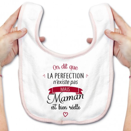 Bavoir bébé Perfection - Maman