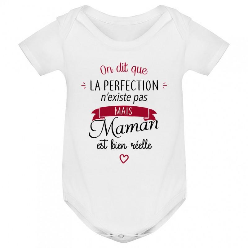 Body bébé Perfection - Maman