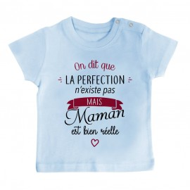 T-Shirt bébé Perfection - Maman