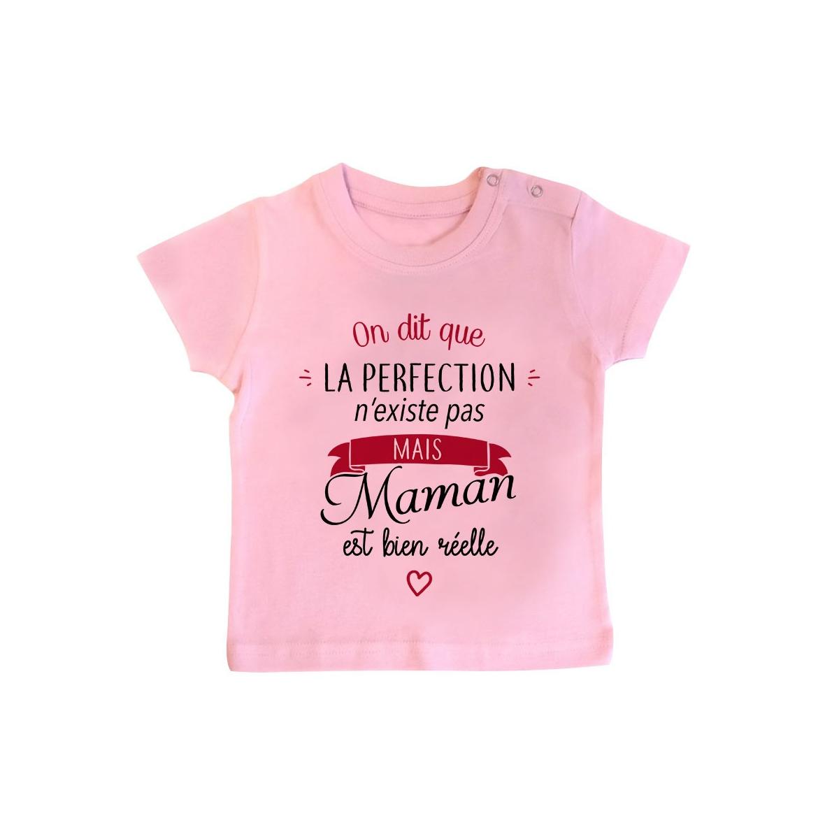T-Shirt bébé Perfection - Maman