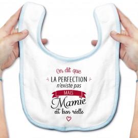 Bavoir bébé Perfection - Mamie