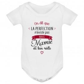 Body bébé Perfection - Mamie