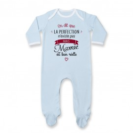 Pyjama bébé Perfection - Mamie