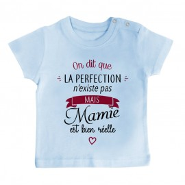 T-Shirt bébé Perfection - Mamie