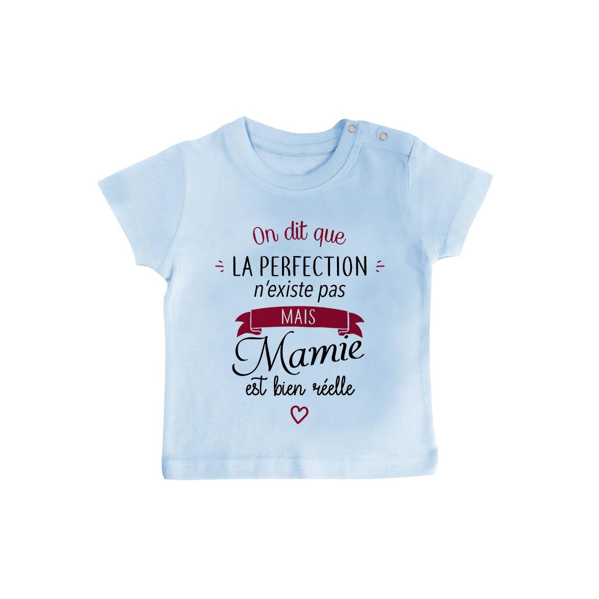 T-Shirt bébé Perfection - Mamie