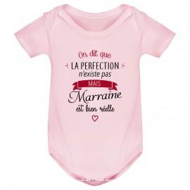 Body bébé Perfection - Marraine