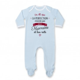 Pyjama bébé Perfection - Marraine
