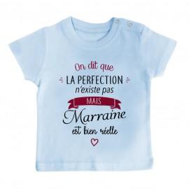 T-Shirt bébé Perfection - Marraine