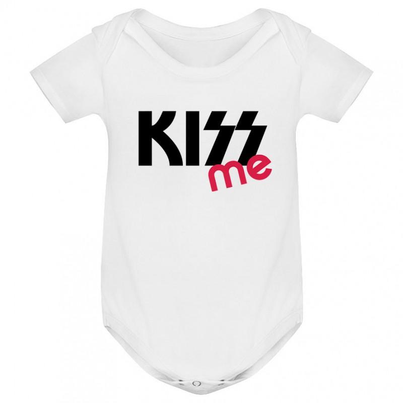 Body bébé KISS me ( version fille )