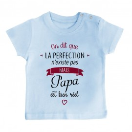 T-Shirt bébé Perfection - Papa