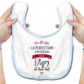 Bavoir bébé Perfection - Papy