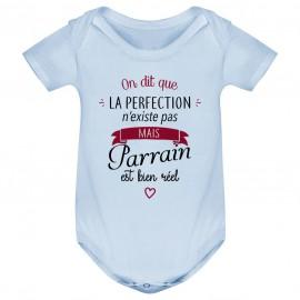 Body bébé Perfection - Parrain