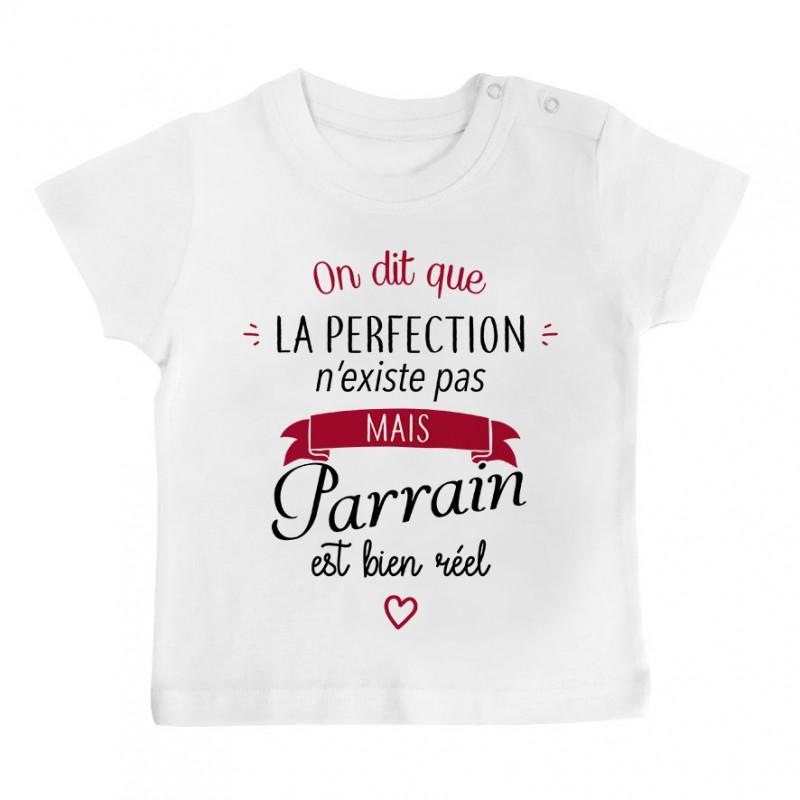 T-Shirt bébé Perfection - Parrain