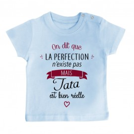 T-Shirt bébé Perfection - Tata