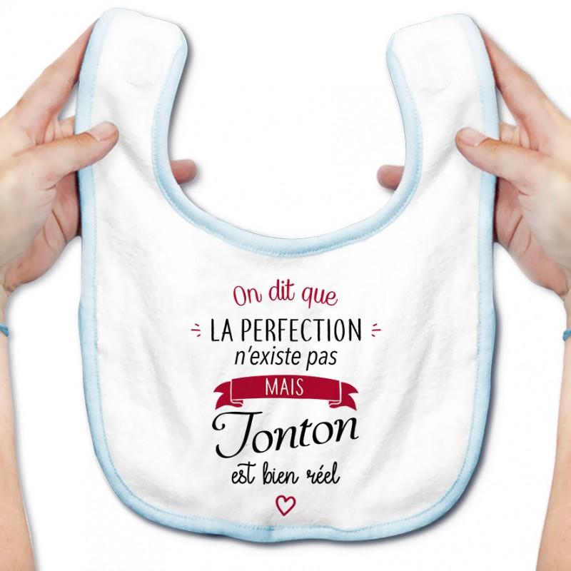 Bavoir bébé Perfection - Tonton