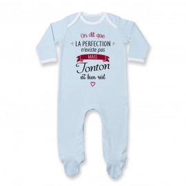 Pyjama bébé Perfection - Tonton