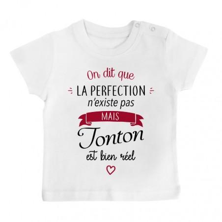 T-Shirt bébé Perfection - Tonton