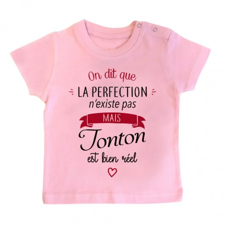 T-Shirt bébé Perfection - Tonton