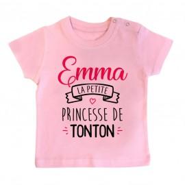 """T-shirt bébé personnalisé """"..."""
