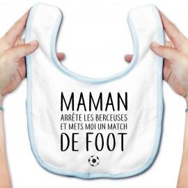 Bavoir bébé Match de foot