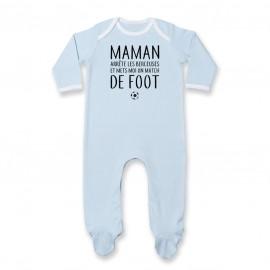 Pyjama bébé Match de foot