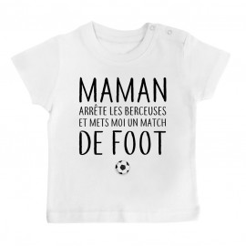 T-Shirt bébé Match de foot
