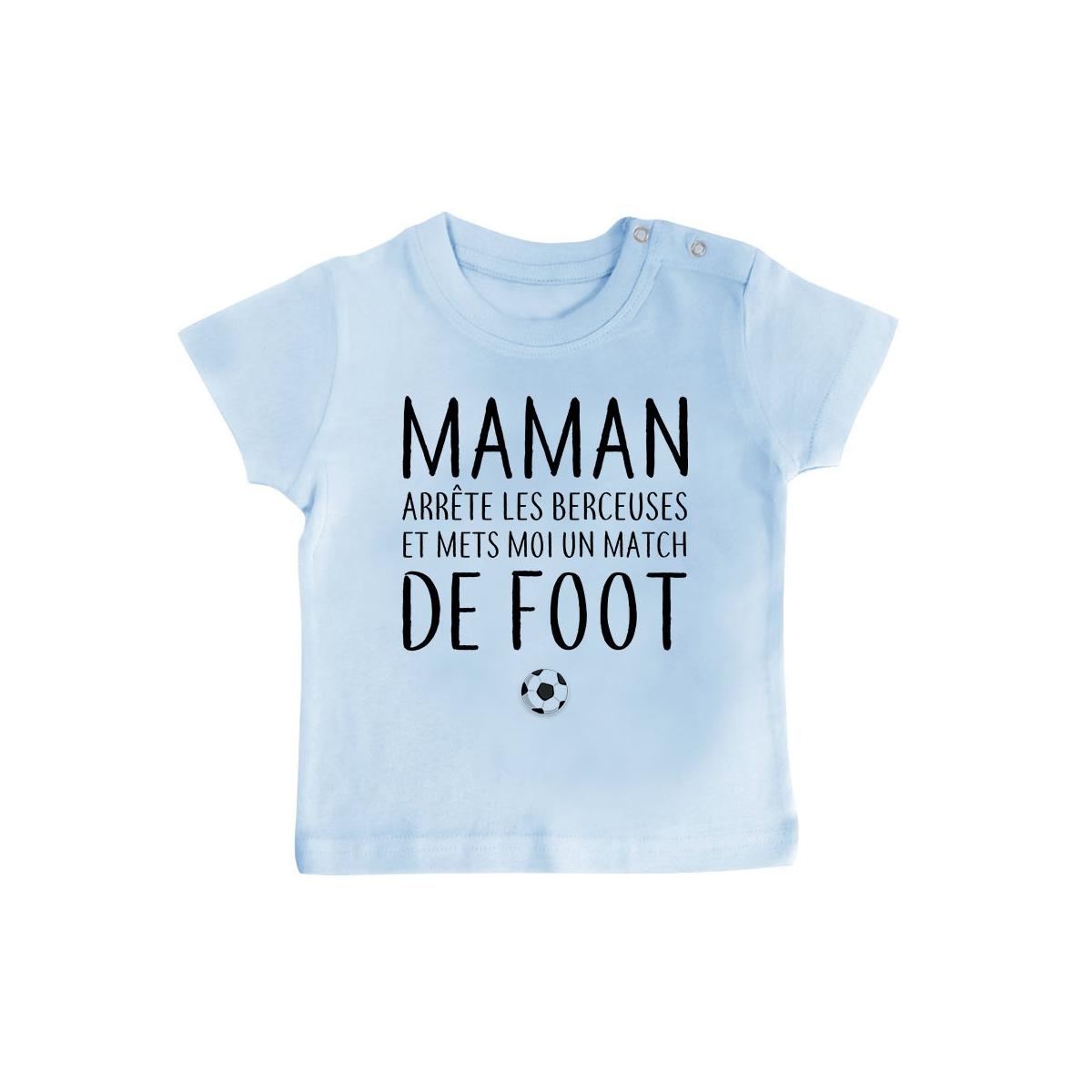 T-Shirt bébé Match de foot