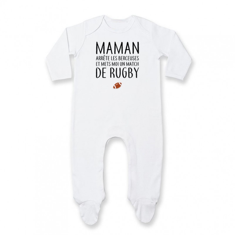 Pyjama bébé Match de rugby