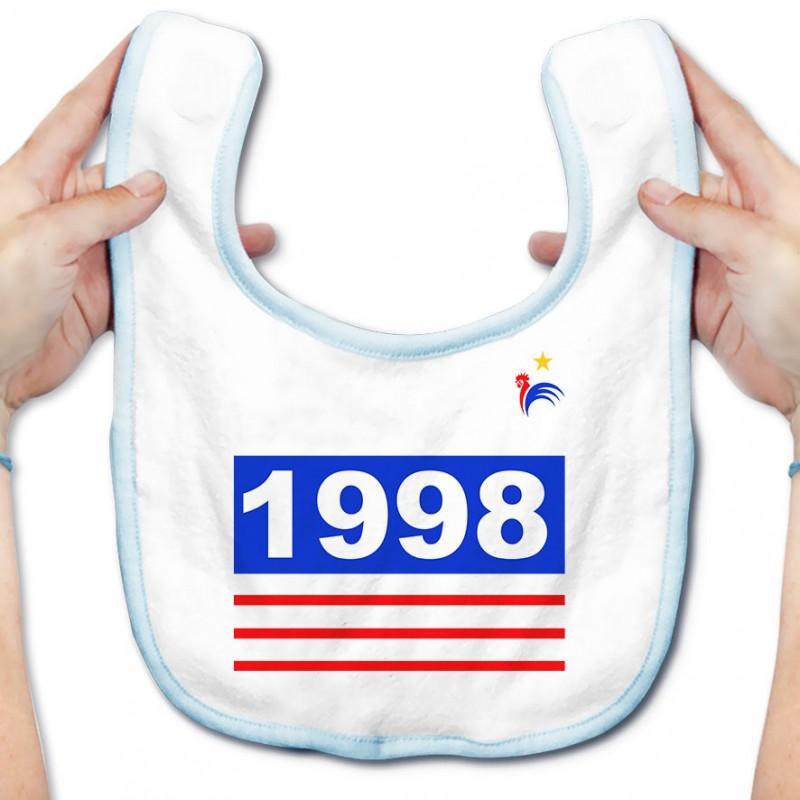 Bavoir bébé Foot 1998