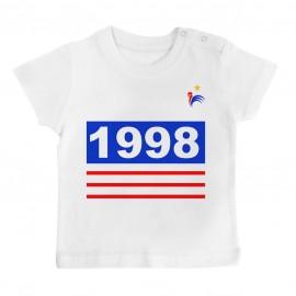 T-Shirt bébé Foot 1998