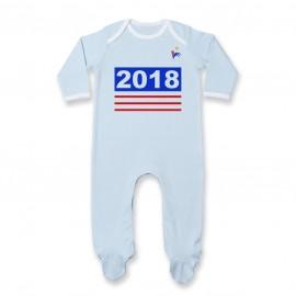 Pyjama bébé Foot 2018
