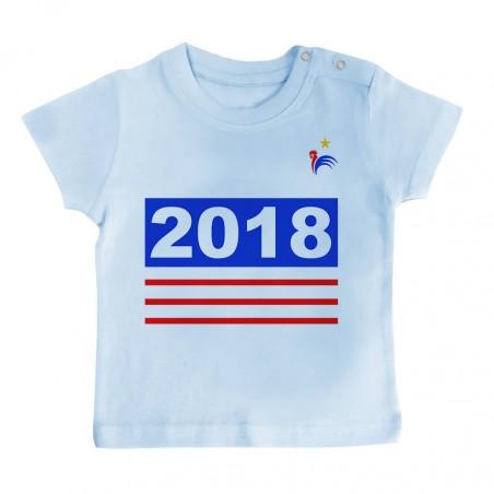 T-Shirt bébé Foot 2018