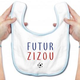 Bavoir bébé Futur Zizou