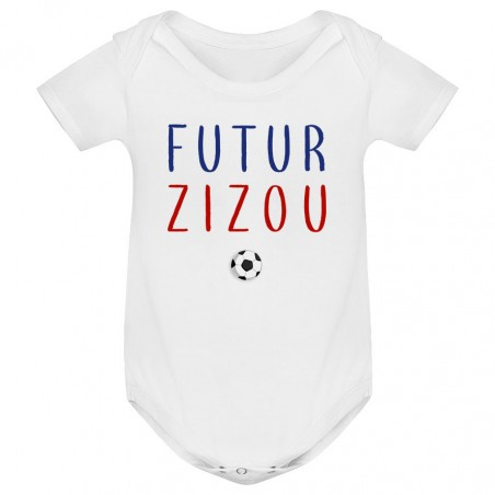 Body bébé Futur Zizou