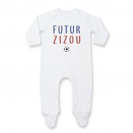 Pyjama bébé Futur Zizou