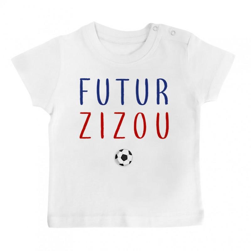 T-Shirt bébé Futur Zizou