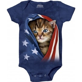 Body chaton patriotique -...
