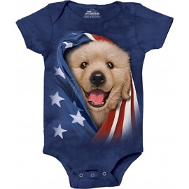 Body chiot patriotique -...
