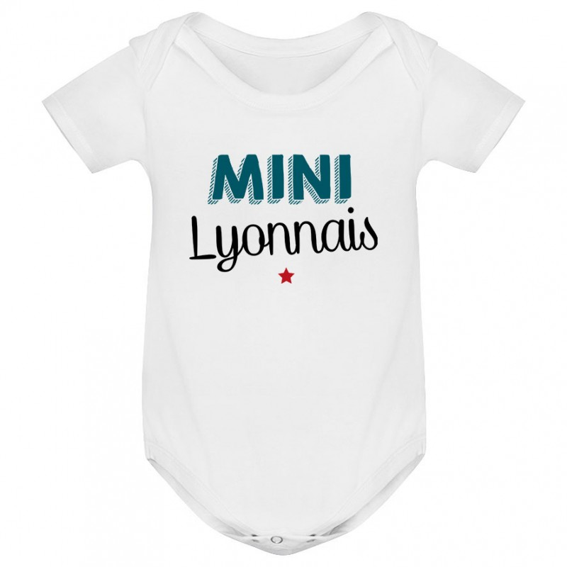 Body bébé Mini Lyonnais