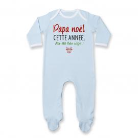 Pyjama bébé papa noel jai...
