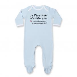 Pyjama bébé le père noel...
