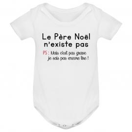 Body bébé le père noel...