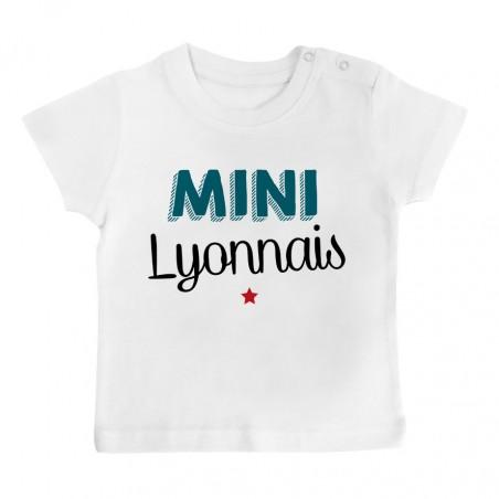 T-Shirt bébé Mini Lyonnais