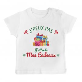 T-shirt bébé j'peux pas...