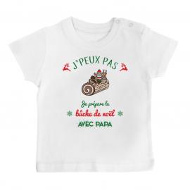 T-shirt bébé j'peux pas je...
