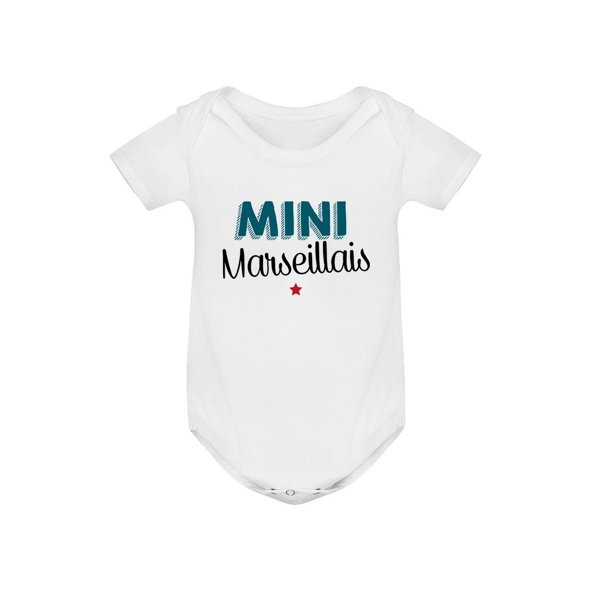 Body bébé Mini Marseillais