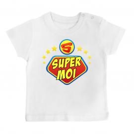T-shirt bébé super moi