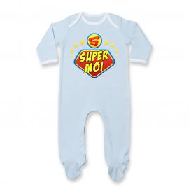 Pyjama bébé super moi