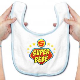 Bavoir bébé super bébé