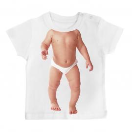 T-shirt bébé fun évian /01/